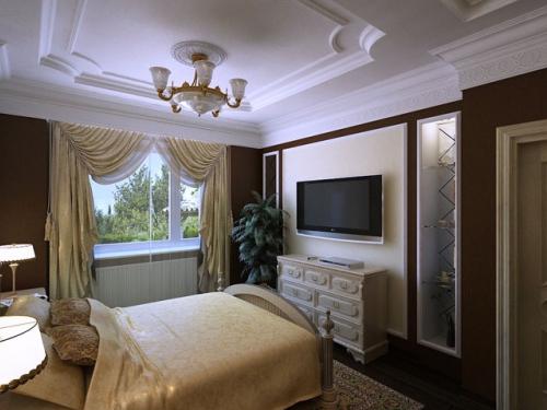 Спальня, американская классика