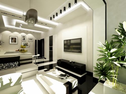 Гостиная, современный стиль